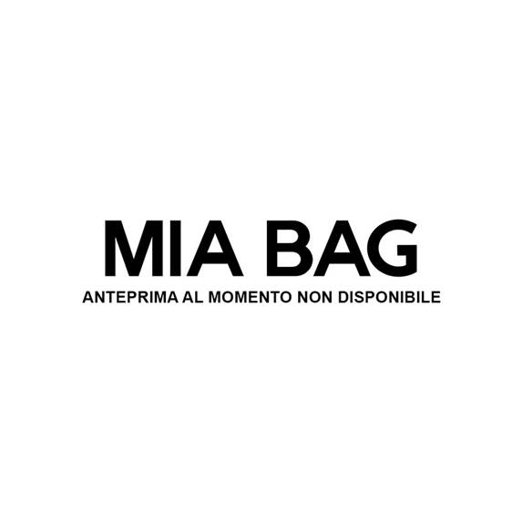 FAUX FUR CHAIN BAMBOO TOTE